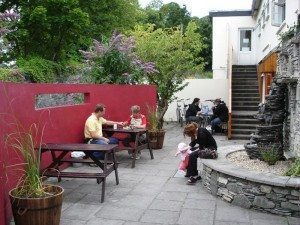 exterior killarney railway hostel
