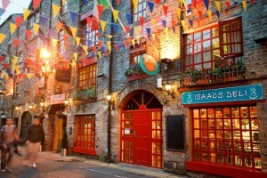 exterior of Isaacs hostel Dublin