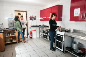 Leenane Hostel Kitchen